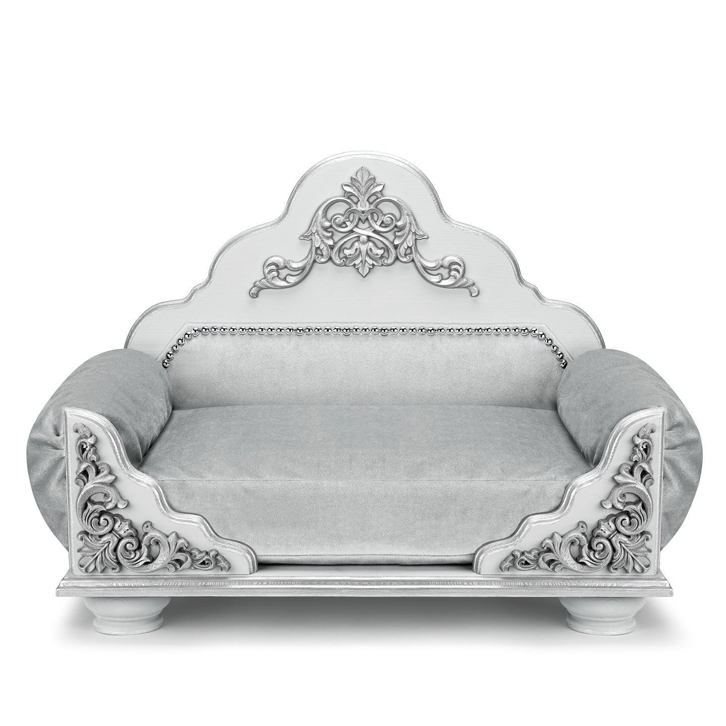 Dog bed silver